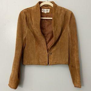Vintage G-III Genuine Suede Jacket